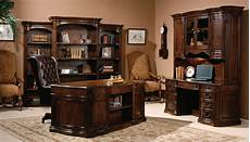 walnut home office furniture old world walnut executive home office set hekman