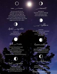 Moon Phases Poster By Bronwyn Simons Witchy Things