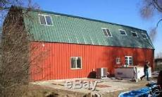 custom built 3600 sq ft steel metal gambrel home building shell kit 2 floor 3600