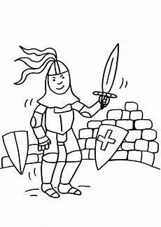Ausmalbilder Drachen Ritter Kostenlos Ausmalbild Ritter Und Drachen Ritter Mit Schwert Zum