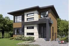 Prix Maison Moderne Zen Contemporain Lap0652 Maison Laprise Maisons