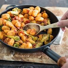 gnocchi mit bacon und brokkoli daf 252 r ist immer zeit