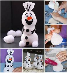 disney frozen olaf sock snowman diy find
