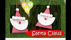 santa claus paper plate series