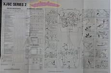 Jaguar Xj6c Maintenance Wall Chart Diagram Service Xj