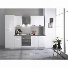 Küchenzeile 240 Cm Breit - k 252 chenzeile breite 240 cm mit elektroger 228 ten