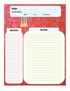 recipe card book template page recipe card printable recipe cards cookbook