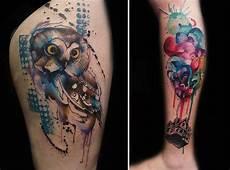 artist creates stunning freehand tattoos on the spot
