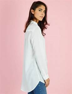 chemise longue en viscose femme blanc cass 233 kiabi 12 00