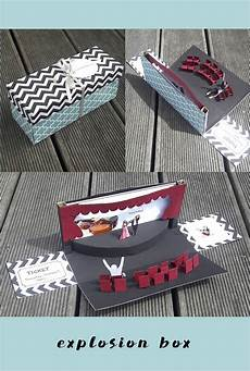 theaterkarten originell verpacken diy explosion box zum