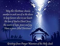 merry christmas prayer warriors of the holy souls