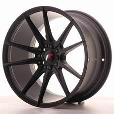 Jante Aluminium Japan Racing Jr 21 18x9 5 Et35 Noir Mat