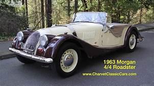 1963 Morgan 4/4 Roadster Charvet Classic Cars  YouTube