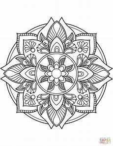 Ausmalbilder Ausdrucken Mandala Ausmalbild Blumen Mandala Ausmalbilder Kostenlos Zum