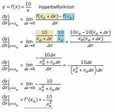 vom differenzenquotient zum differenzialquotient