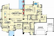 single story contemporary house plan 69402am