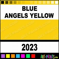 blue angels yellow international military enamel paints 2023 blue angels yellow paint blue