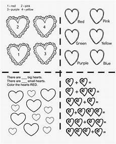 color by number worksheets hearts 16061 free printable kindergarten worksheets planet weidknecht
