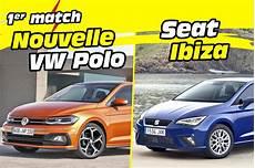 Nouvelle Volkswagen Polo 6 Vs Seat Ibiza Premier Match
