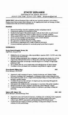 nurse resume exle professional rn resume