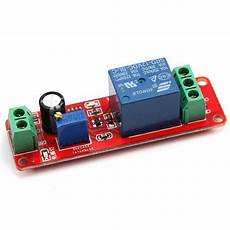 relais electrique 12v 30515 dc12v pull delay timer switch adjustable relay module 0 to10 second t1098 ali88 in relays from