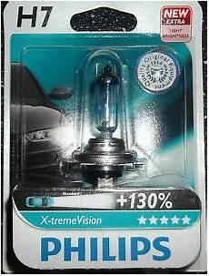 philips h7 xtreme vision upgrade bulb single h7 x treme