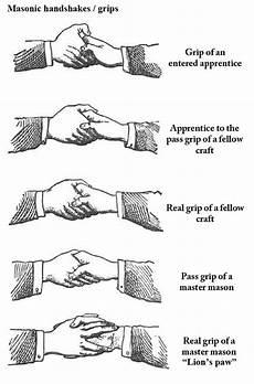 Freemason Secret Handshakes Illuminati Symbols