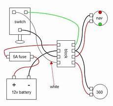 simple diagram wiring radar