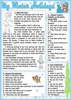 winter vacation esl worksheets 19994 my winter holidays esl worksheets for distance learning and physical classrooms
