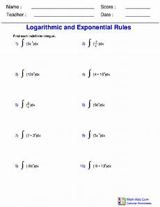 calculus worksheets indefinite integration for calculus worksheets
