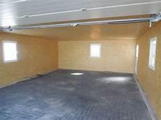 garage innen mit holz doppelgarage fink garage