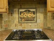 Kitchen Tile Murals Tile Backsplashes Kitchen Backsplash Ideas Sunflower Basket Tile Mural