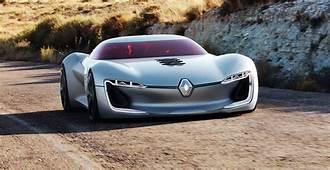 Renault TreZor Concept Previews Next Gen Styling At Paris