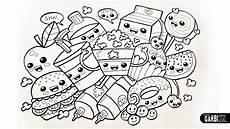 drawing food easy and kawaii graffiti by garbi kw