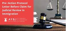 pre action protocol letter judicial review a y j solicitors