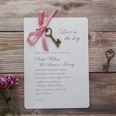 love is the key diy wedding invitation by wedding