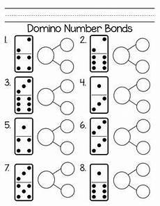 addition number bond worksheets 8792 domino number bonds homeschool math kindergarten math 1st grade math