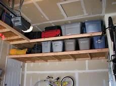 Overhead Garage Storage Diy Overhead Garage Storage