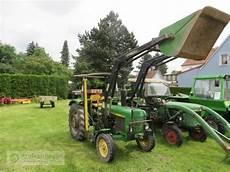 deere 830 frontlader traktor technikboerse