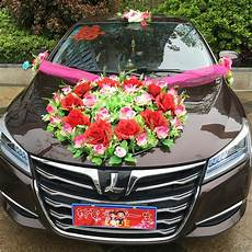 car flower wedding car decoration korean decoration suits