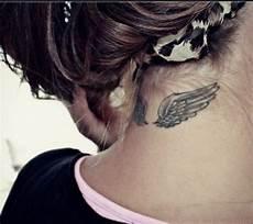 tatouage femme discret nuque 1001 id 233 es tattoos neck tattoos back of neck et wing neck