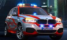 bmw x5 notarzt einsatzfahrzeug zur rettmobil 2014