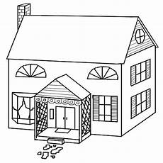 house coloring pages getcoloringpages