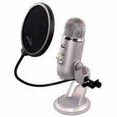 6 Inch Pop Filter For Blue Yeti Microphone Parts