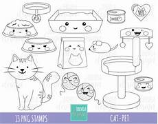 Kawaii Ausmalbilder Zum Ausdrucken Kostenlos 50 Sale Cat St Commercial Use Kawaii St Digi St
