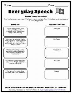 worksheet creator with images social skills perspective taking therapy worksheets