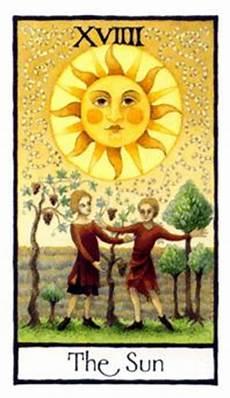 die sonne tarot tarot bedeutung orakelkarten net