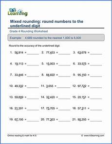 rounding place value worksheets 4th grade 5524 grade 4 place value rounding worksheet mixed rounding