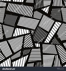 Black And White Abstract Lines abstract lines black and white seamless pattern vector