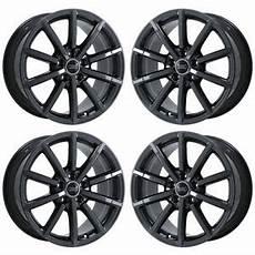 audi a3 felgen original 18 quot audi a3 black chrome wheels rims factory oem 2017 2018